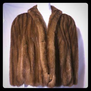 Vintage Mink Shawl